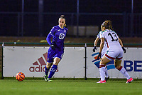 Tine De Caigny (6) of Anderlecht pictured during a female soccer game between RSC Anderlecht Dames and Oud Heverlee Leuven on the 11 th matchday of the 2020 - 2021 season of Belgian Womens Super League , friday 22 nd of January 2021  in Tubize , Belgium . PHOTO SPORTPIX.BE | SPP | STIJN AUDOOREN