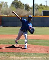 Eduarniel Nunez - Chicago Cubs 2019 extended spring training (Bill Mitchell)