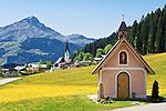 Austria, Tyrol, Pillersee Valley, St. Jakob in Haus: Lehrberg chapel | Oesterreich, Tirol, Pillerseetal, St. Jakob in Haus: Lehrbergkapelle