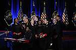 The Chicago Children's Choir performs before President Barack Obama's farewell address at McCormick Place in Chicago, Illinois on January 10, 2017.