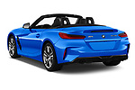 Car pictures of rear three quarter view of a 2020 BMW Z4 Base 2 Door Convertible angular rear