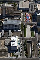 aerial photograph of the El Dorado Resort and Casino, Reno, Washoe County, Nevada