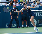 Elina Svitolina (UKR) battles Christina McHale (USA) at the US Open being played at USTA Billie Jean King National Tennis Center in Flushing, NY on August 29, 2013