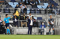 SAINT PAUL, MN - MAY 12: Minnesota United FC head coach Adrian Heath during a game between Vancouver Whitecaps and Minnesota United FC at Allianz Field on May 12, 2021 in Saint Paul, Minnesota.