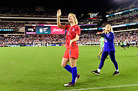 PHILADELPHIA, PA - AUGUST 29: Samantha Mewis #3 of the United States during a game between Portugal and USWNT at Lincoln Financial Field on August 29, 2019 in Philadelphia, PA.