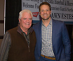 Don Weir and Shawn Estes during the 35th Annual Bobby Dolan Baseball Dinner in the Reno Ballroom on Thursday, January 17, 2019.