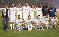 LA Galaxy starting eleven. The LA Galaxy defeated Toronto FC 2-0 at Home Depot Center stadium in Carson, California on Saturday September 19, 2009...