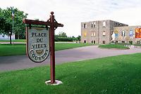 Caraquet, NB, New Brunswick, Canada - Place du Vieux Couvent (Old Convent - built 1874)