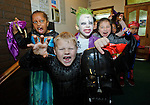 Children from Ennis Holy Family school enjoying the annual  Clare Champion Halloween Party. Photograph by John Kelly.