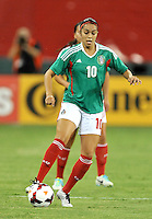 Renae Cuellar (10) of Mexico.  The USWNT defeated Mexico 7-0 during an international friendly, at RFK Stadium, Tuesday September 3 , 2013.