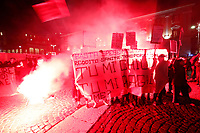 Napoli Manifestazione di protesta contro le chiusure di negozi e palestre