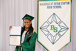 Gabriel, Naphtalia  received their diploma at Bryan Station High school on  Thursday June 4, 2020  in Lexington, Ky. Photo by Mark Mahan Mahan Multimedia