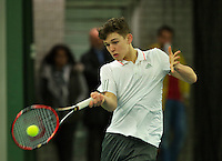 Rotterdam, The Netherlands, March 18, 2016,  TV Victoria, NOJK 14/18 years, Stijn Pel (NED)<br /> Photo: Tennisimages/Henk Koster