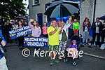 The Moran family waiting to welcome Jimmy Moran home to Strand Road, after three months spent in the hospital