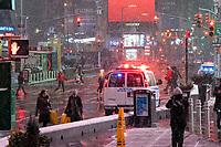 Major Snowstorm hits New York City