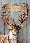 Marcello, CHRISTMAS SYMBOLS, WEIHNACHTEN SYMBOLE, NAVIDAD SÍMBOLOS,deer, paintings+++++,ITMCXM1995,#XX#