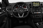 Car pictures of steering wheel view of a 2019 Mercedes Benz GLE-Class Coupe GLE43 AMG 4MATIC 5 Door SUV