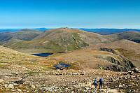 Beinn Mheadhoin from Ben Macdui, Cairngorm National Park, Badenoch & Speyside
