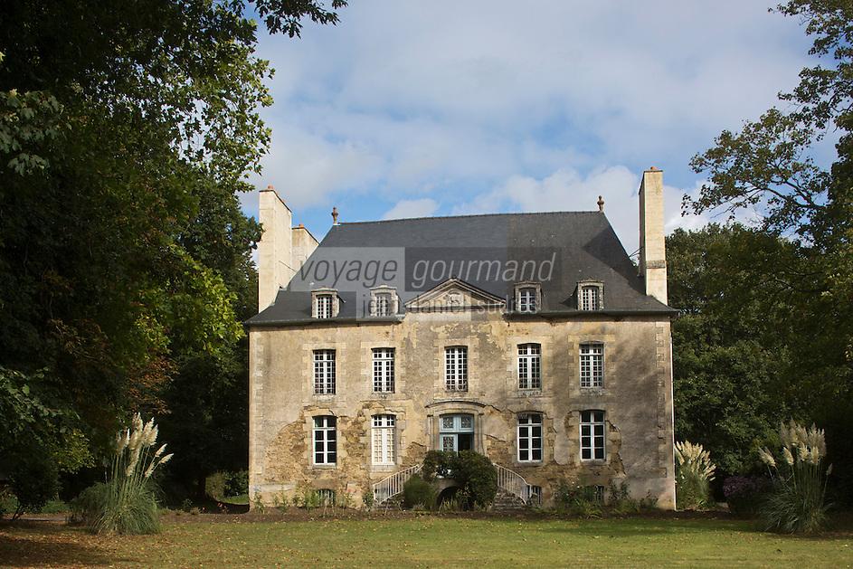 France, Côtes d'Armor (22), Pluduno: Château de Monchoix - Malouinière Garangeau //  France, Cotes d'Armor, Cote d'Emeraude (Emerald Coast), Pluduno: Castle Monchoix - Malouinière Garangeau