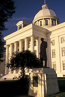 AJ4006, State Capitol, Montgomery, State House, Alabama, The State Capitol Building in the capital city of Montgomery in the state of Alabama.