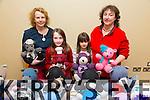 Seosaimhin Trevaskis, Clodagh Trevaskis, Aoife Foran, Jackie Foran at the Arty Bits Christmas Craft Fair in the Fels Point Hotel on Sunday