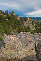 Scene at The Needles in Custer State Park, SD