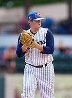 Eustis Panthers pitcher Scout Updike (33) during the 42nd Annual FACA All-Star Baseball Classic on June 6, 2021 at Joker Marchant Stadium in Lakeland, Florida.  (Mike Janes/Four Seam Images)