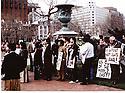 USA 1989.Demonstration of Kurds in Washington  USA 1989<br /> Manifestation de Kurdes a Washington