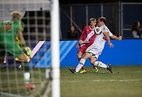 Santa Barbara, CA - Friday, December 7, 2018:  Maryland men's soccer defeated Indiana 2-0 in a semi-final match in the 2018 College Cup.