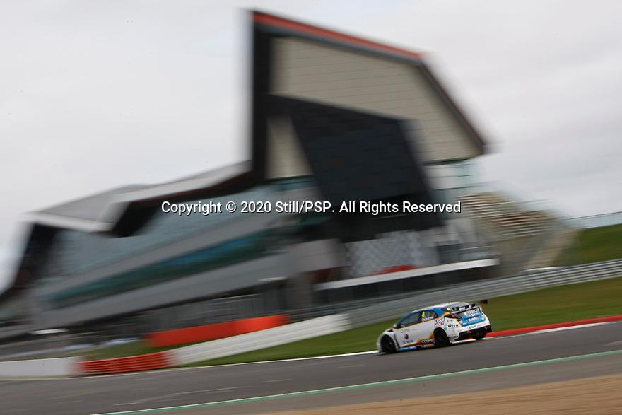 2020 British Touring Car Championship Media day. #4 Sam Osborne. MB Motorsport accelerated by Blue Square. Honda Civic Type R