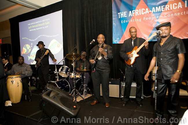 The Africa-America Institute held it's 24th Annual Awards Gala at the Ritz-Carlton Battery Park in New York City in celebration of the steady progress and triumph over adversity in Mozambique. The event was underwritten by The Coca-Cola Company and underwritten by the Chevron Corporation.  The entertainment was provided by Shiko Mawatu.