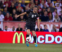 Abby Erceg. The USWNT tied New Zealand, 1-1, at an international friendly at Crew Stadium in Columbus, OH.