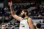 Laboral Kutxa's Ioannis Bourousisand during Liga Endesa ACB at Barclays Center in Madrid, October 11, 2015.<br /> (ALTERPHOTOS/BorjaB.Hojas)