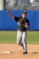 Michigan State Spartans Ryan Jones #10 during a game vs the Akron Zips at Chain of Lakes Park in Winter Haven, Florida;  March 12, 2011.  Michigan State defeated Akron 5-1.  Photo By Mike Janes/Four Seam Images