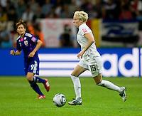 Megan Rapinoe.  Japan won the FIFA Women's World Cup on penalty kicks after tying the United States, 2-2, in extra time at FIFA Women's World Cup Stadium in Frankfurt Germany.