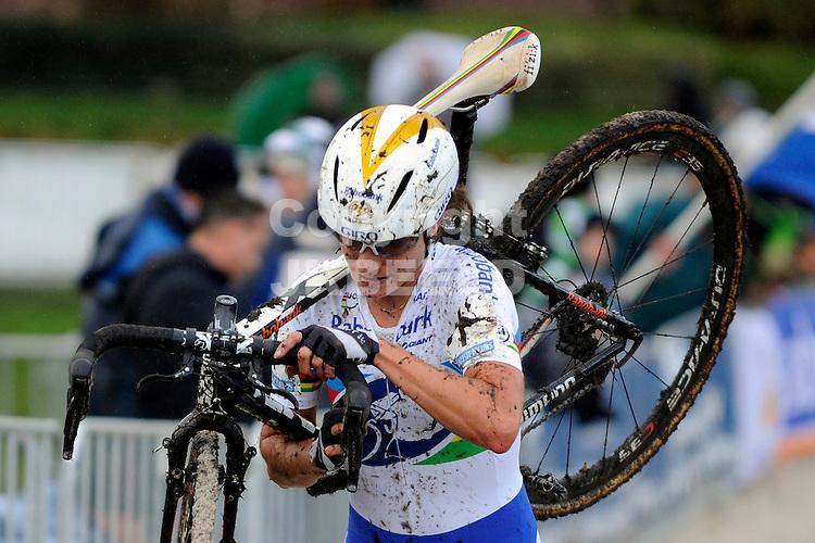 GIETEN - Wielrennen, Superprestige Cyclocross dames, seizoen 2012-2013, 25-11-2012, Marianne Vos