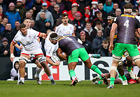Saturday 7th December 2019   Ulster Rugby vs Harlequins<br /> <br /> Rob Herring during the Heineken Champions Cup Round 3 clash in Pool 3, between Ulster Rugby and Harlequins at Kingspan Stadium, Ravenhill Park, Belfast, Northern Ireland. Photo by John Dickson / DICKSONDIGITAL