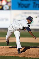 July 18, 2010: Everett AquaSox pitcher Fray Martinez (39) during a Northwest League game against the Eugene Emeralds at Everett Memorial Stadium in Everett, Washington.