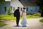 Jennifer Neumeier and Bart Raboin wedding at Heritage Hill Historic Park in Allouez, Wis., on July 30, 2016.