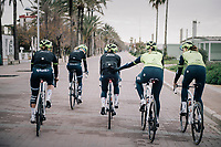 Team Trek-Segafredo women's team<br /> training camp<br /> Mallorca, january 2019<br /> <br /> ©kramon