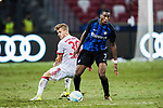 FC Internazionale Midfielder Geoffrey Kondogbia in action during the International Champions Cup match between FC Bayern and FC Internazionale at National Stadium on July 27, 2017 in Singapore. Photo by Marcio Rodrigo Machado / Power Sport Images