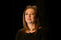 Susan Cain at the Coaching in Leadership and Healthcare Conference by the Institute of Coaching and Harvard Medical School at the Renaissance Hotel Boston MA October 13 and 14, 2017