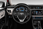 Car pictures of steering wheel view of a 2016 Toyota Corolla LE Plus 4 Door Sedan Steering Wheel