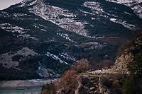 descending<br /> <br /> 76th Paris-Nice 2018<br /> stage 6: Sisteron > Vence (198km)