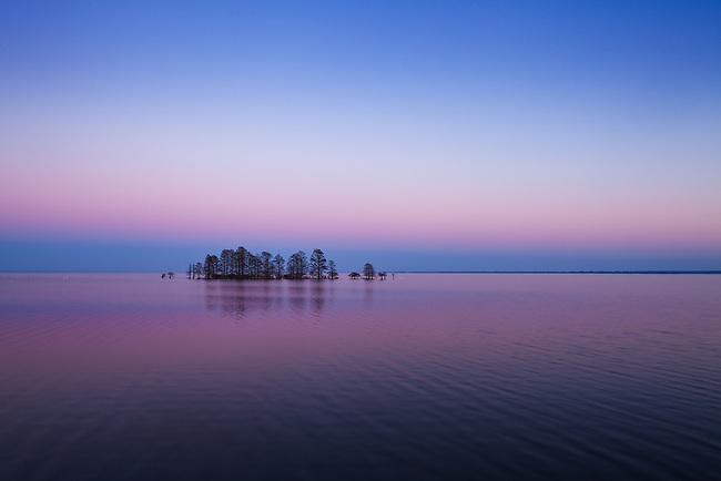 Evening light on Lake Mattamuskeet