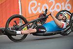 Charles Moreau, Rio 2016 - Para Cycling // Paracyclisme.<br /> Charles Moreau compete in the Para Cycling Road Race Men's H3 // Charles Moreau participe à la course de paracyclisme sur route hommes H3. 15/09/2016.