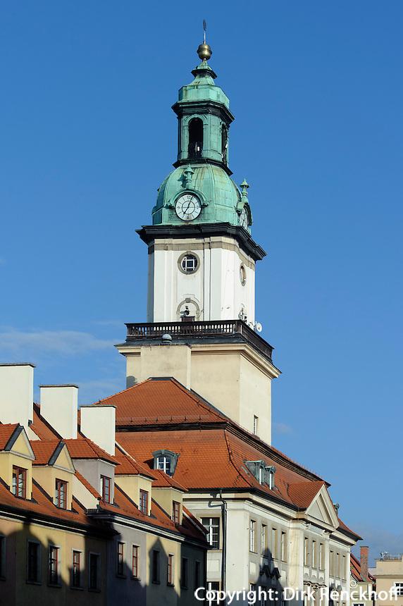 Rathaus in Jelenia Gora (Hirschberg), Woiwodschaft Niederschlesien (Województwo dolnośląskie), Polen, Europa<br /> Town Hall in Jelenia Gora, Poland, Europe