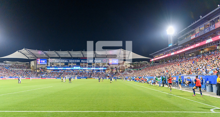 FRISCO, TX - MARCH 11: uhh hghjkjfghjklkjl  Toyota Stadium is packed for the USWNT vs Japan game during a game between Japan and USWNT at Toyota Stadium on March 11, 2020 in Frisco, Texas.