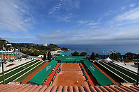 11th April 2021; Roquebrune-Cap-Martin, France;  Ambiance during practise sessions for the  Rolex Monte Carlo Masters