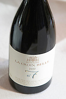 La Croix Belle N:o number 7, 2002. Domaine La Croix Belle. Cotes de Thongue. Languedoc. France. Europe. Bottle.